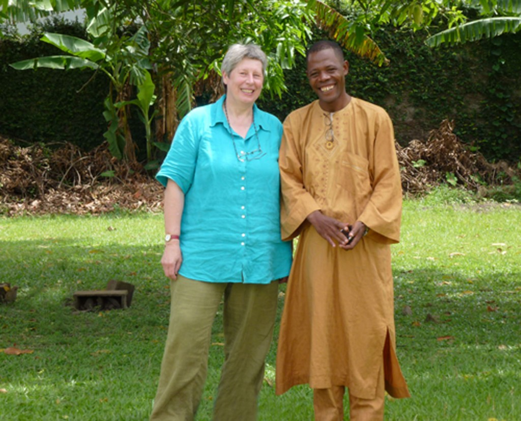 Tasha Abdou & Els Thissen in Douala Kameroen April 2011