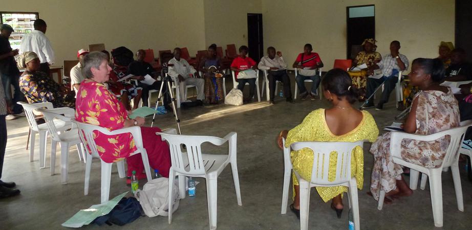 Facilitatordtraining Douala Kameroen